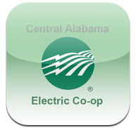 Mobile App | Central Alabama Electric Cooperative