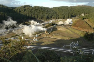 geothermal field