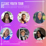 2021 Youth Tour Scholarship Recipients